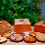 Coaster Boxes - Various Woods