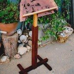 Adjustable Music Stand - Redwood Burl, Cedar, Maple, Walnut