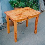 Small Desk - Mahogany