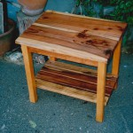 End Table - Redwood, Cedar