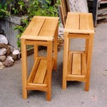 End Tables - Oak