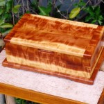 Box - Figured Redwood
