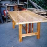 Dining Table - Cypress, Redwood