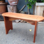 Small Bench - Sapele