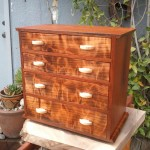 Small Cabinet - Machiche, Redwood, Maple