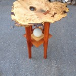 Small Table - Chinese Chestnut, Mahogany