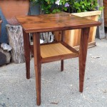 Small Table side - Walnut and Oak