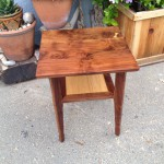 Small Table top - Walnut and Oak