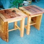 End Tables - Redwood, Cedar