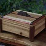 Tea Box - Quarter Sawn Oak, Walnut, Bubinga, Wenge