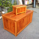 Blanket chest - Cherry