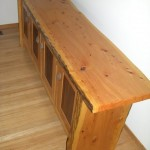 Credenza - Cedar, Walnut, Red Oak