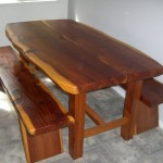 Table with Benches - Sequoia