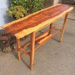 Hall Table - Redwood, Cedar, & Cherry