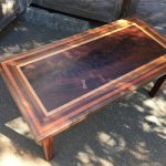Coffee Table - Walnut, Mahogany, Redwood, Sapele, & Cherry