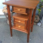 End Table - Sapele