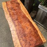 Bench - Figured Redwood