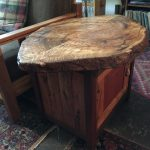 End Table -- Camphor Burl