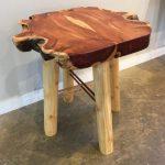 Small Table -- Redwood, Cedar