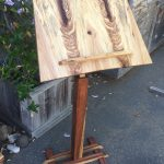 Music Stand - Maple, Oak, Redwood