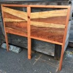 Clay's Headboard - Redwood