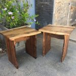 Lauren and Justin's End Tables - Walnut