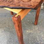 Small Table - Redwood, Cedar