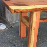 Alex's Bench - Redwood