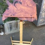 Music Stand - Redwood, Ash