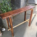 Hall Table - Walnut Oak Cedar