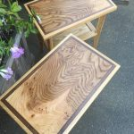 End Tables - Elm, White Oak, Walnut