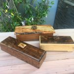 Boxes - Redwood, Walnut, Oak