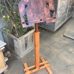 Music Stand - Redwood Burl, Cedar