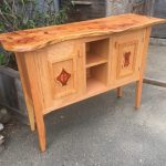 Sarah and Evan's Cabinet – Red Oak, Cedar, Maple