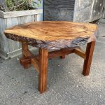 Coffee Table - Camphor Burl, Redwood