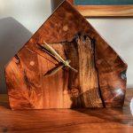 Clock - Redwood